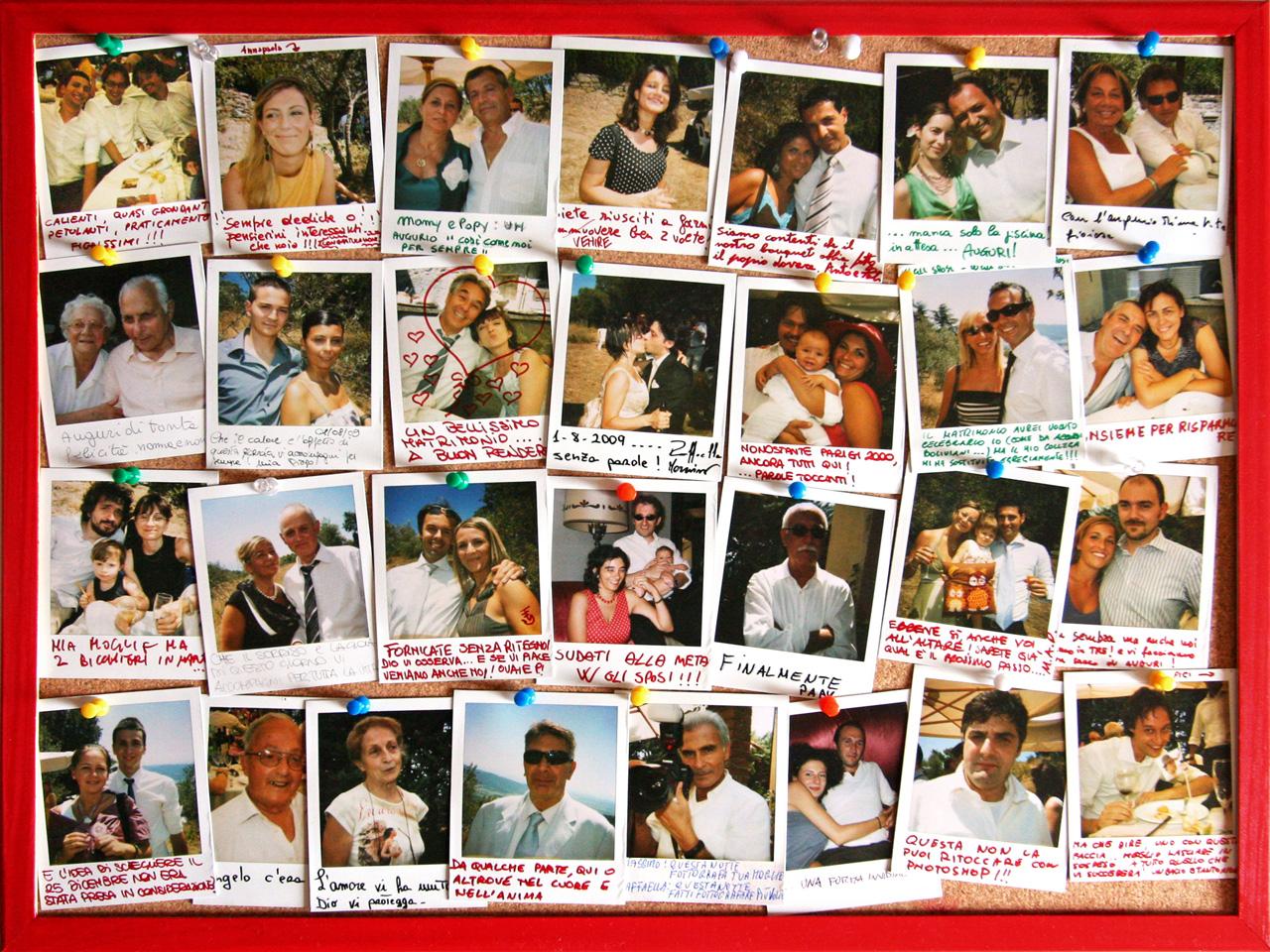 Polaroid Matrimonio